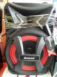 Vendo caixa amplificada amvox 180w nova na caixa