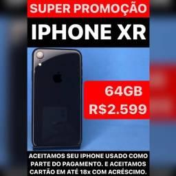 Título do anúncio: iPhone XR 64 preto