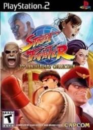 Título do anúncio: jogo coletanea Street Fighter ps2 aniversario 30 anos