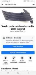 Porta neblina corolla 2019 original