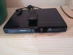 DVD Philips semi-novo c/usb