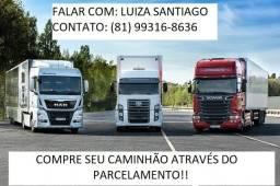 Compre seu Caminhão Baú através do Parcelado!!