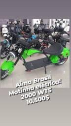 Scooter elétrica Aima Brasil