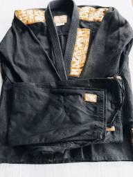 Kimono Trançado Jiu jitsu NOVO
