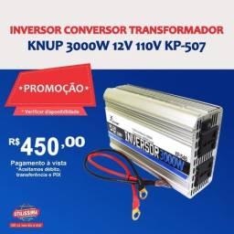 Inversor de Tensão 12v/110v 3000w