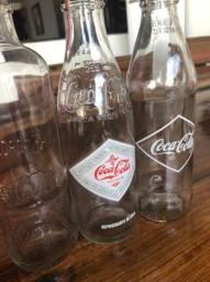 Título do anúncio: Garrafas colecionador retrô Coca Cola