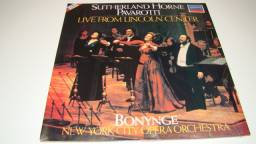 LP Vinil - Luciano Pavarotti - Sutherland Horne Pavarotti - 1.981
