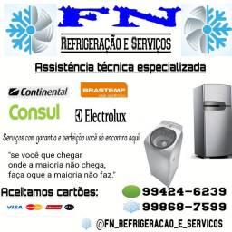 Serviço de refrigeração