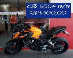 CB650F 2019/19 VALOR 41.900 A PRONTA ENTREGA