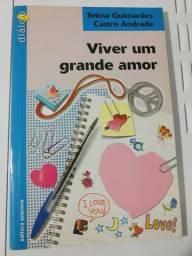 Livro Viver Um Grande Amor - Telma Guimarães e Castro Andrade