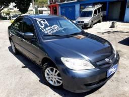 Civic 1.7 Automático 2004  ( peq.entrada + 48 x 500,00 fixas)