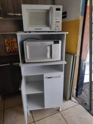 balcao de forno de microondas novo