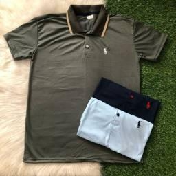 [PROMOÇÃO] Kit 5 Camisas Polo