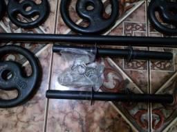 Kit para musculação 30 Kg.