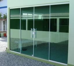 Título do anúncio: Promoção portas e janelas vídro temperado