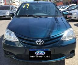 Título do anúncio: Toyota Etios Sedã 1.5 XS Automático 2017 + GNV.
