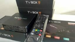 PR0MOÇÃO* Conversor SmartTV // TV Box 5G 4K com wifi e android 10 // P2x 2.0