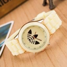Relógio Esportivo Marfim, Pronta Entrega, Pagamento Na Retirada