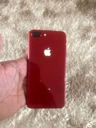8 Plus red