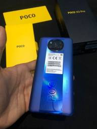 Título do anúncio: Poco X3 Pro 256GB 8GB memória RAM Novo V/T