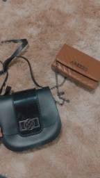 Colete feminino, bolsa sapatos