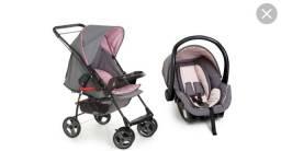 Vendo Carrinho e Bebê Conforto