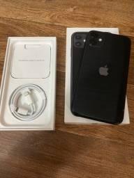 Título do anúncio: iPhone 11 Black 64 GB garantia Apple 08/2022