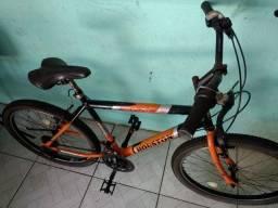 Bicicleta aro 24 com marchas média usada revisada