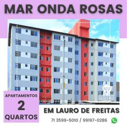 Residencial Mar Onda Rosas, 2/4 com e sem suíte - Super Oportunidade