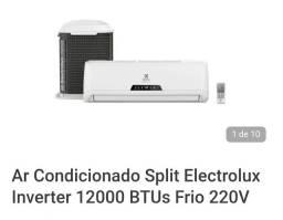 Ar condicionado splinter 12 m BTUs inverter ( 70% de economia )