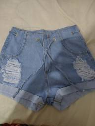 Os 5 Shorts jeans por $110