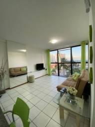 Apartamento quarto sala mobíliado Ponta Verde