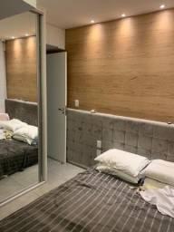 apto 2 quartos, bem localizado, decorado e semimobiliado, lazer completo, varanda