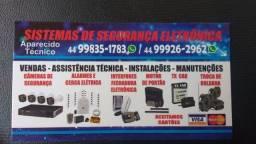 Manutenção & Instalação Motor Portão,Cerca Elétrica,Concertina,Alarme,Interfone