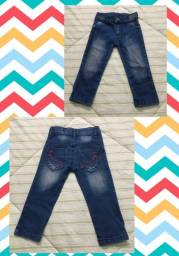 Calça jeans 1-2 anos
