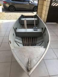Barco de aluminio leveforte 4,12 m