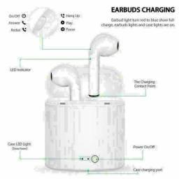 Fone de ouvido duplo HD bluetooth tipo airpod entrega gratuita em toda baixada