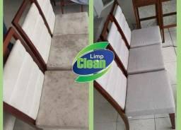 Lavagem e Limpeza Fina e Detalhada nas Cadeiras de Jantar