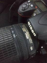 D7000 Nikon com lente 18-105mm nikor