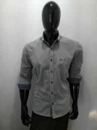 c4e47d3090 Camisa Social Tng Original Seminova