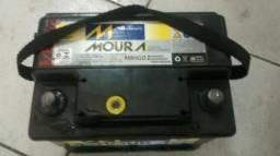 Bateria Moura de 60ah usada