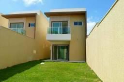 Casas duplex no Eusébio, 3 suites amplas 6 vagas