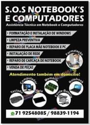 Assistência Técnica em Notebook