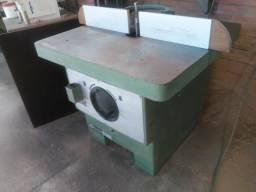 Tupia usada estacionaria, marca invicta para marcenaria, mesa 100×100
