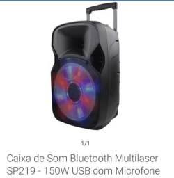 Caixa de Som Multilaser SP219 - Lacrada
