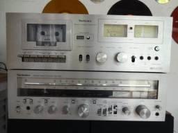 Technics Receiver e Deck Raridade Vintage