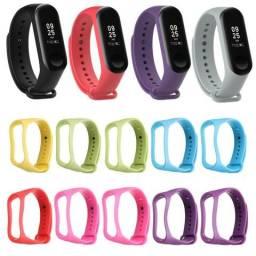 Silicone bracelets Para Mi Band 3 ( Loja na Cohab)-Total Segurança na Sua Compra