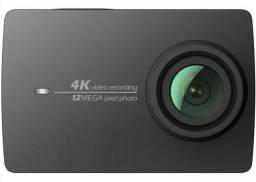 Camera Xiaomi YI 4k 12mp Touchscreen Wifi filma + Acessorios