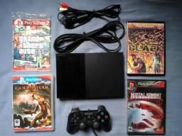 Playstation 2 Destravado COMPLETO