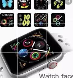 Smartwatch Iwo 8 Original Preto e duas Bands Extras
